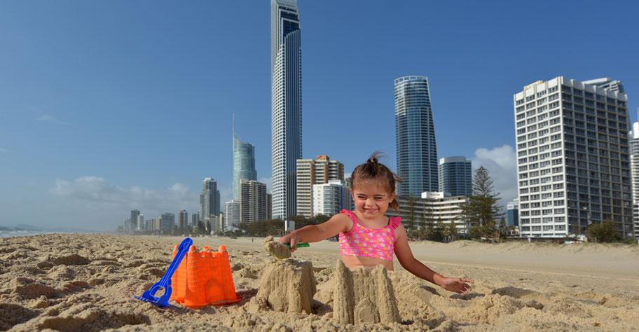 Strand Kinder Australien günstig