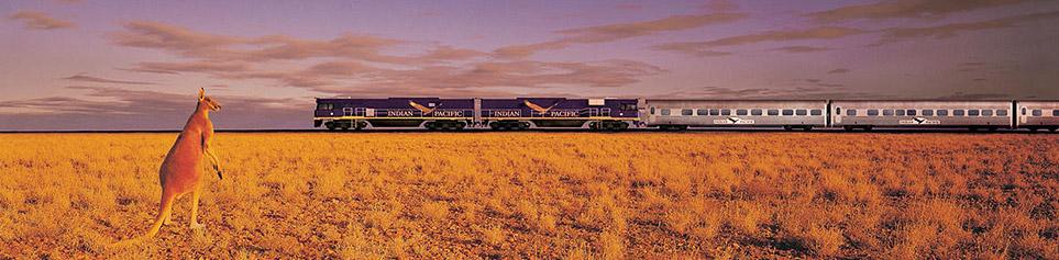 Australien Bahnreisen günstig