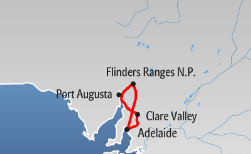 Best of the Flinders Ranges, 5 Tage